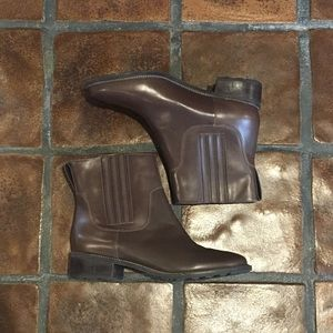 L.L. Bean Brown Leather Ankle Boots
